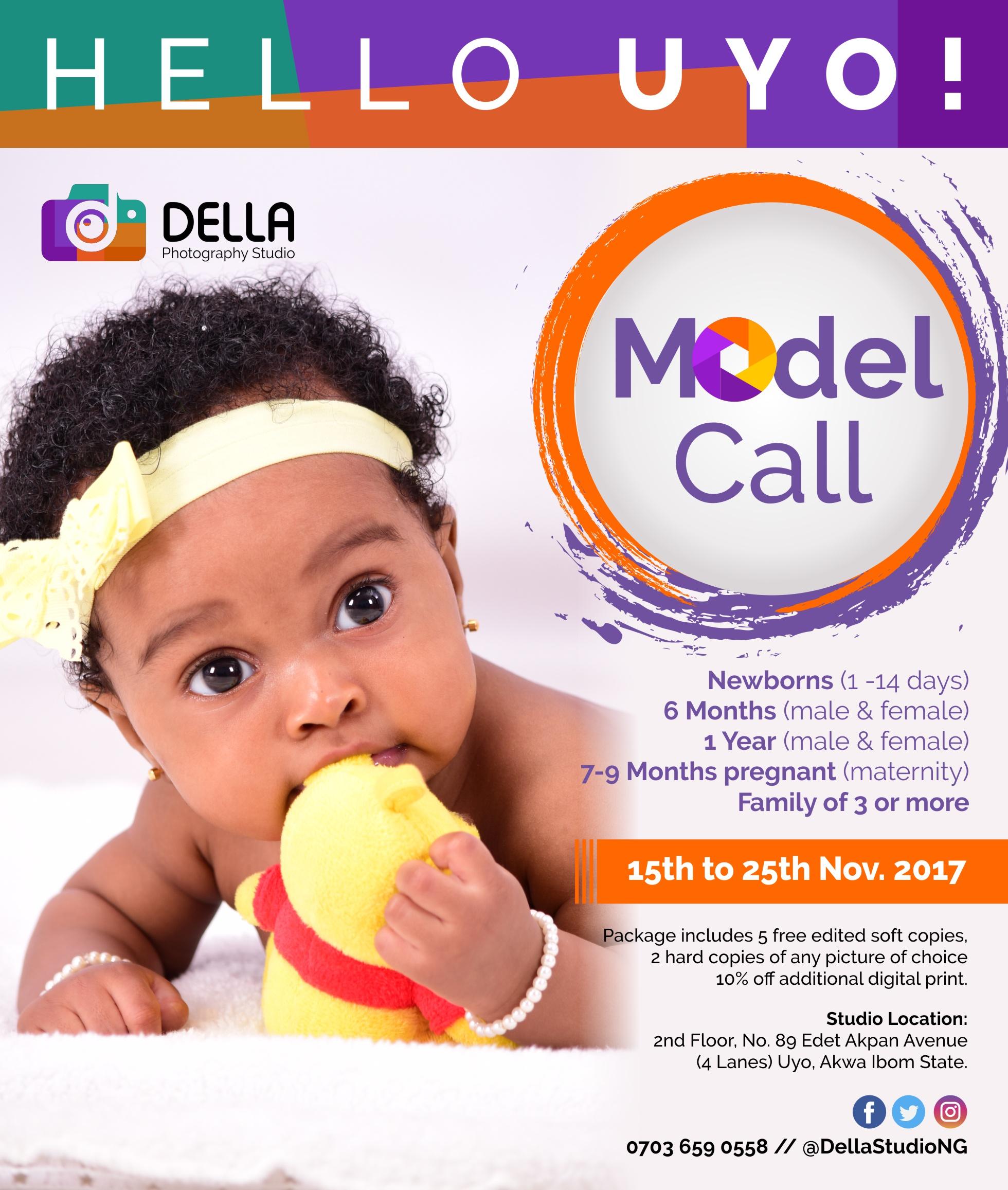 Della Model Call 2